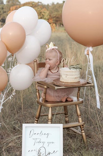Giant Latex Balloon in Blush with Latex