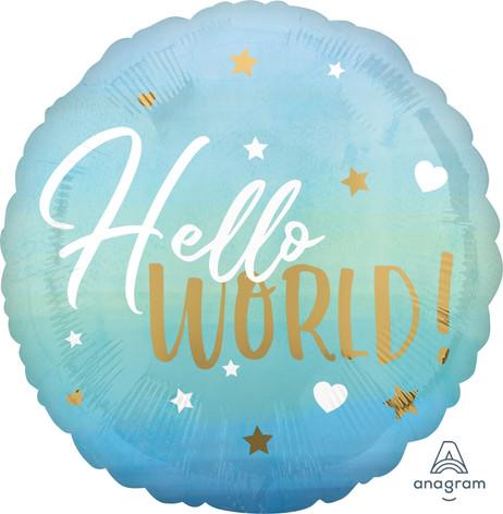 Hello World Blue