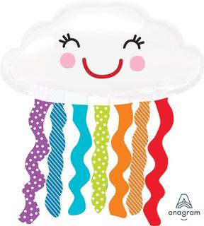 Rainbow Cloud 76x45cm