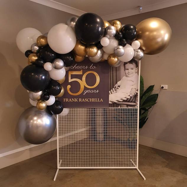 2m balloon garland