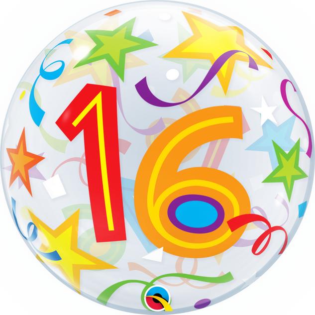 16th Stars Bubble