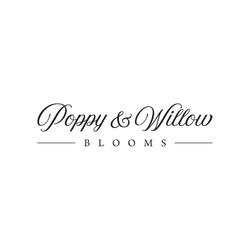 Poppy & Willow Blooms Logo