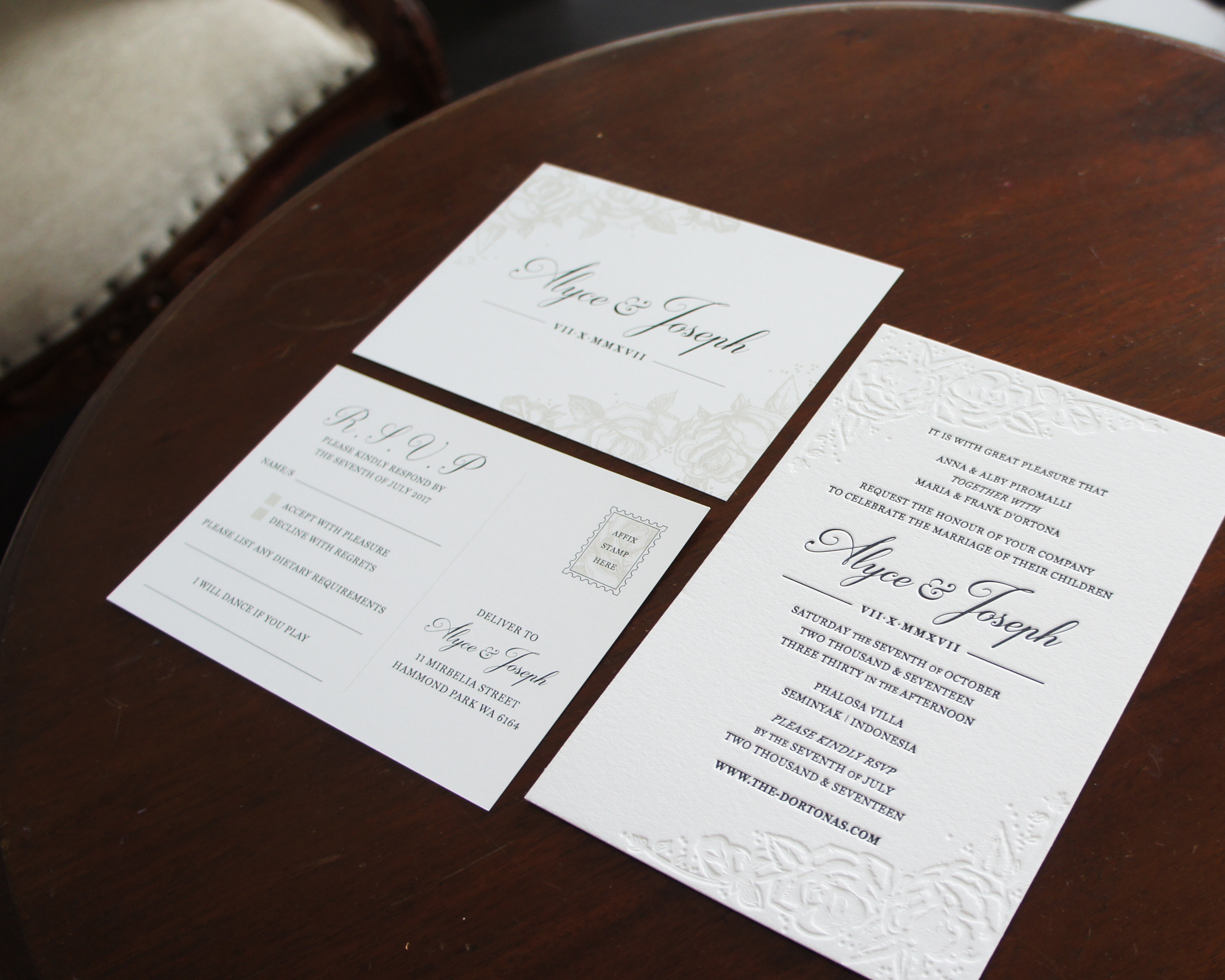 Grey Rabbit Design Invitations