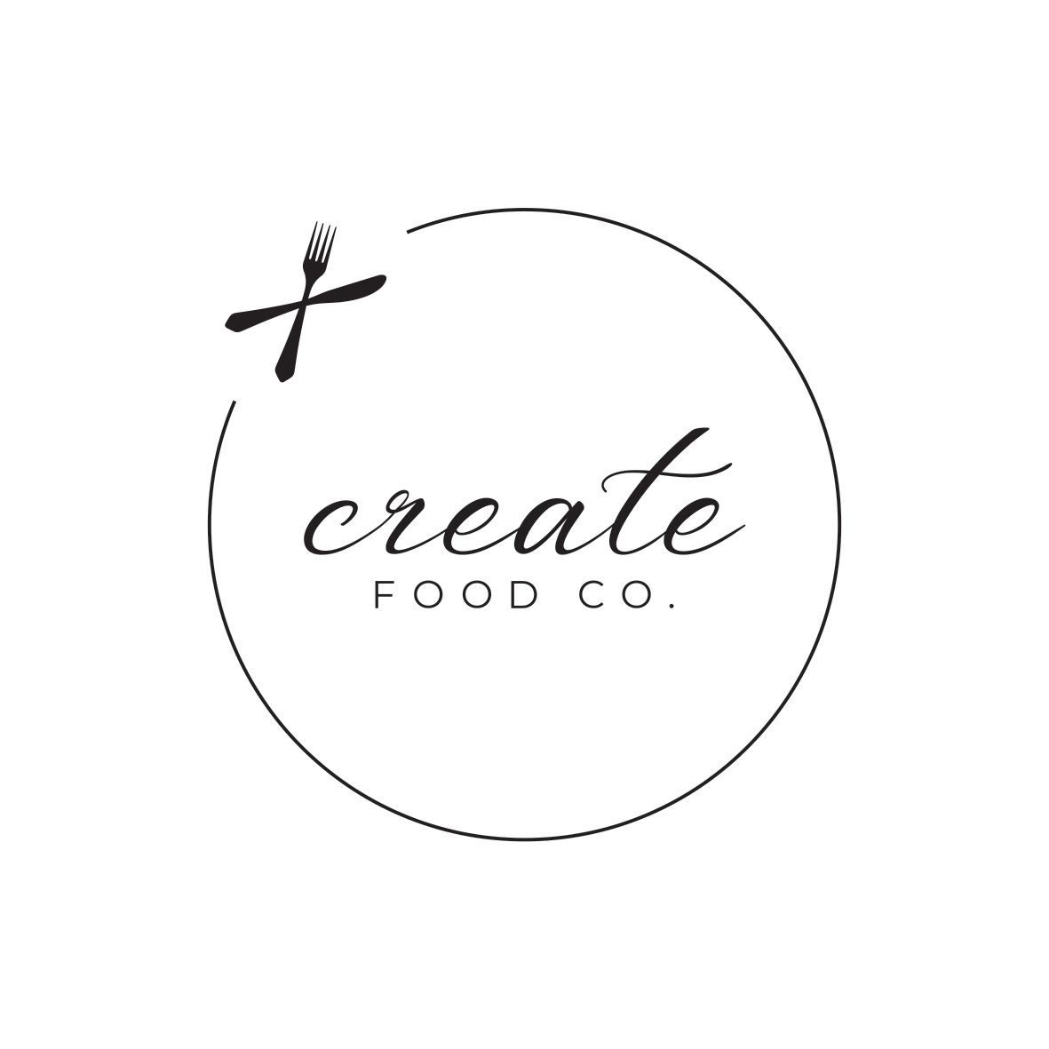Create Food Co Logo