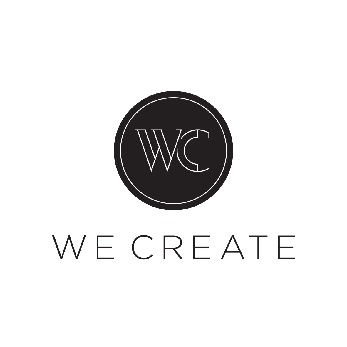 We Create Logo
