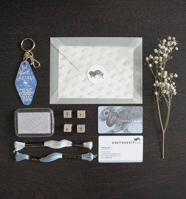 Grey Rabbit Design Flatlay