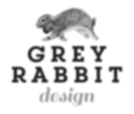 Grey Rabbit Design Logo