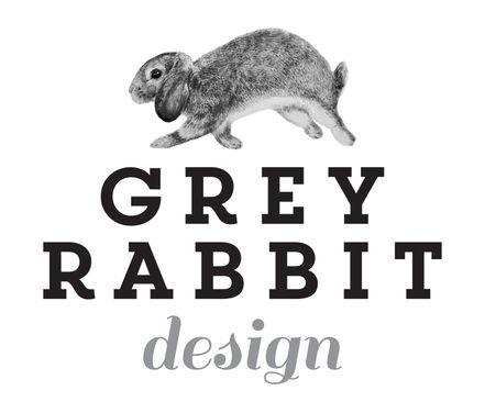 Grey Rabbit Design Logo