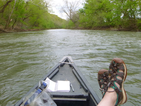 How high is the water today? How to use the on-line USGS river gauge info.   Updated 4/20/21