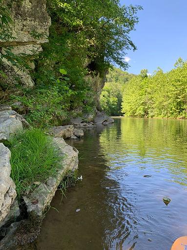 Pretty river shot cliff, Jhn Bauman 2020