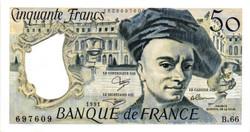 """Billets de 50Frs """"Quentin de la Tour"""""""