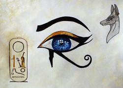 Oeil d'Orus Cartouche ramses