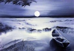La barque des marais