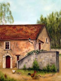 La vielle maison de Gaillon sur Montcient