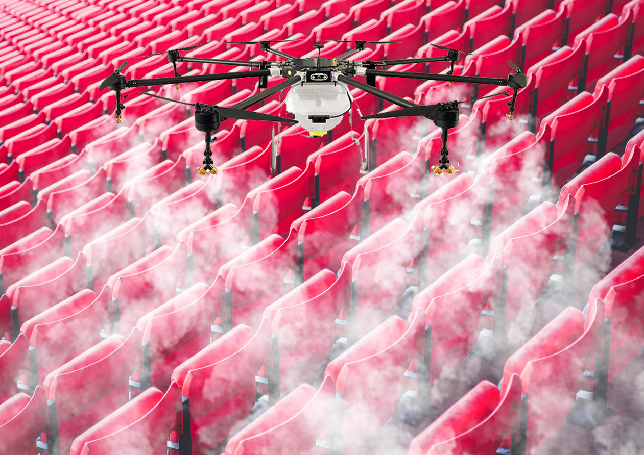 Drone Disinfection