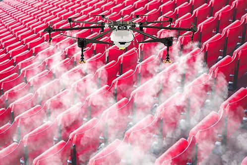 RAIDD 8 - Disinfecting Drone - 8 gallon payload