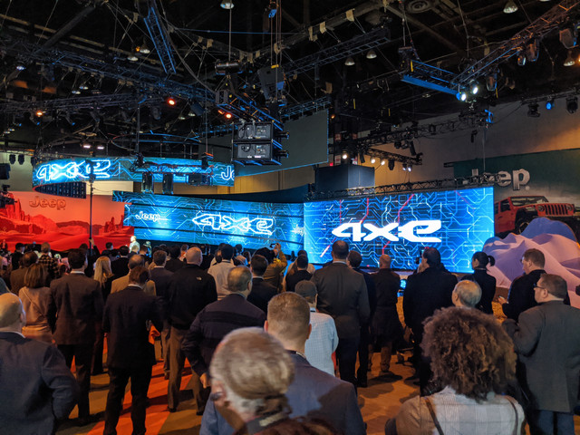 Jeep Press Event - Chicago Auto Show 2020