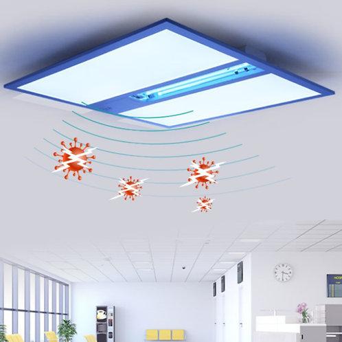 Tunable White LED Panel Light  w/ far-UVC disinfection - 4x4 - 8,700 Lumens