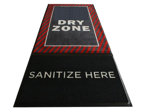 Branded Disinfecting Mat