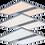 Thumbnail: Tunable White LED Panel Light  w/ far-UVC disinfection - 4x4 - 8,700 Lumens