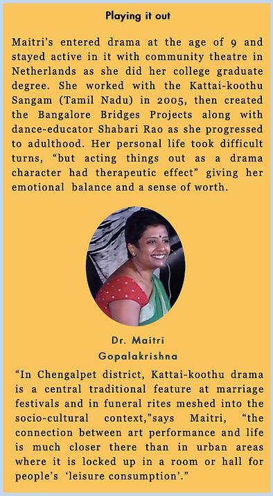 Dr.Maitri Gopalakrishna
