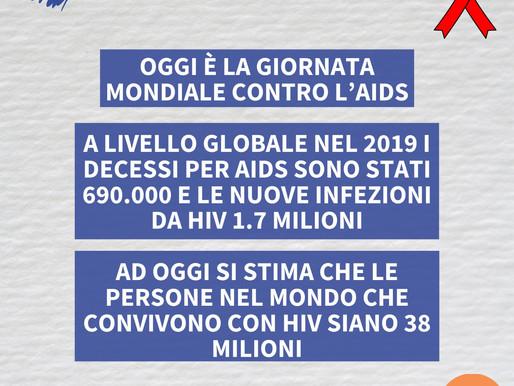 Oggi è la giornata mondiale contro l'AIDS