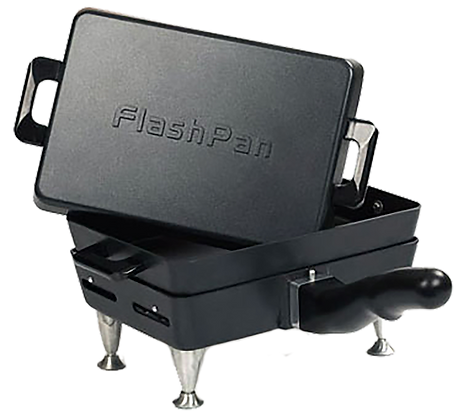 """The Ultimate Outdoor Cooking Pan """"The Flashpan"""""""