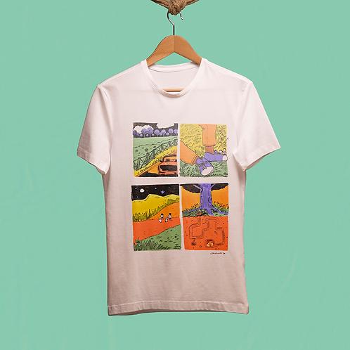 Camisetas em Algodão