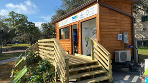 Tiny Green Home Outside The Orlando Science Center Teaches About Sustainability
