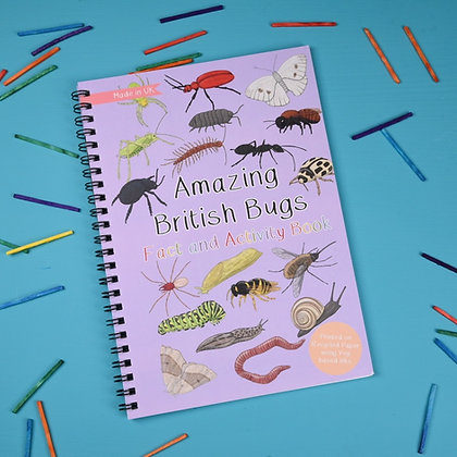 Button and Squirt - Fact and Activity Book (British Bugs)