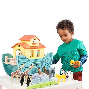 TV259-The-Great-Noah-Ark-Big-Wooden-Boat