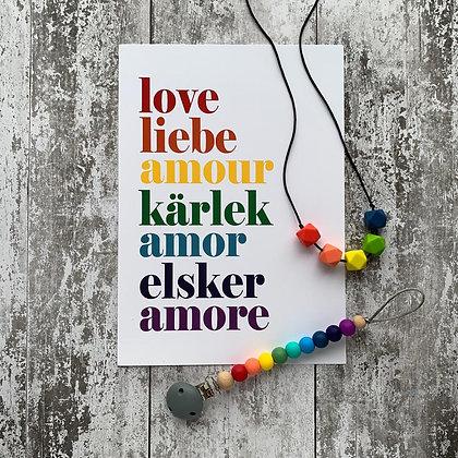 Rainbow Gift Set  - Print