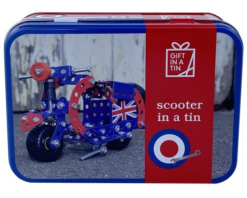 Gift in a Tin -Scooter in a Tin
