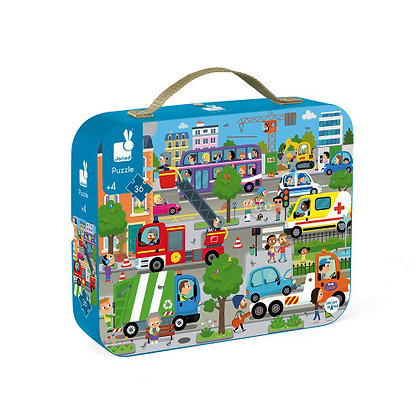 Janod Jigsaw Puzzle- City 4yrs+