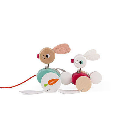 Janod Pull Along - Rabbit