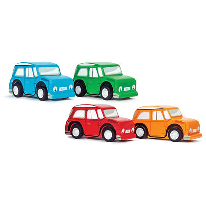 Le Van Toys - Whizzy Pullback Cars (Various Colours)