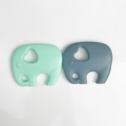 Mama Knows Teether - Elephant (Various Colours)