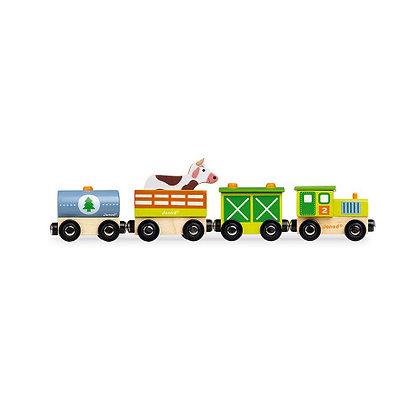 Janod Story Train- Farm