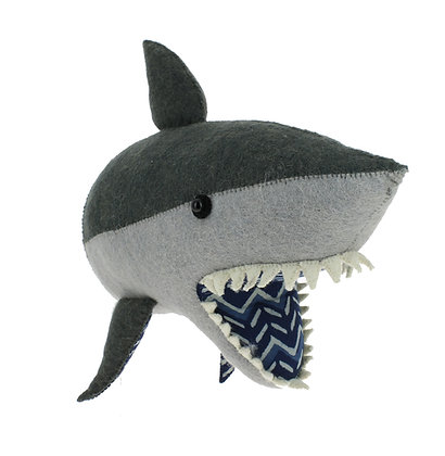 Fiona Walker Animal Head - Shark (semi)