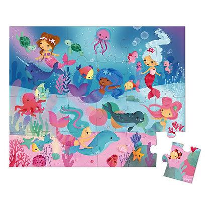 Janod Jigsaw Puzzle - Mermaids  3yrs+