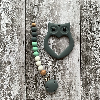 Teether and Soother Clip Set