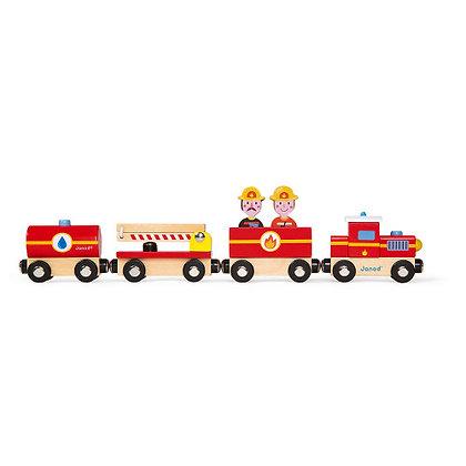 Janod Story Train - Firefighter