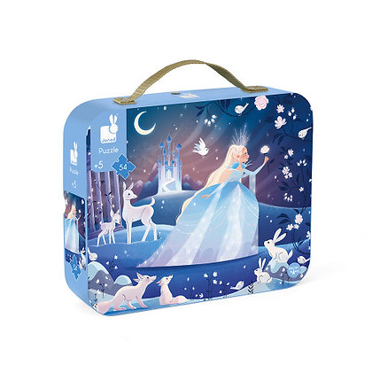 Janod Jigsaw Puzzle- Icy Enchantment 5yrs +