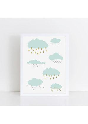 Rain Clouds - A5 Print