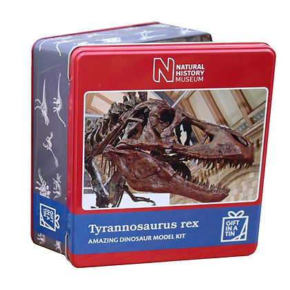 Gift in a Tin - Natural History Museum T-Rex Model Tin