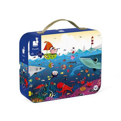 Janod Jigsaw Puzzle- Underwater World 6yrs +