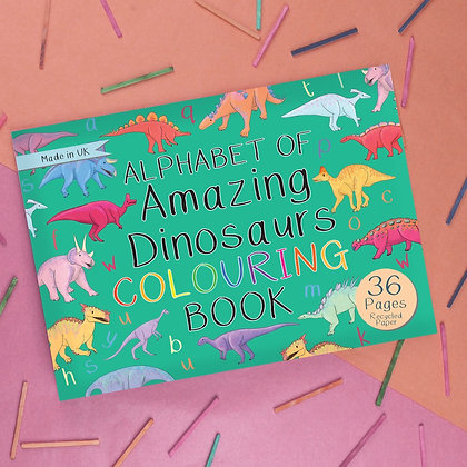 Button and Squirt - Colouring Book (Amazing Dinosaurs)