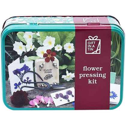 Gift in a Tin - Flower Press
