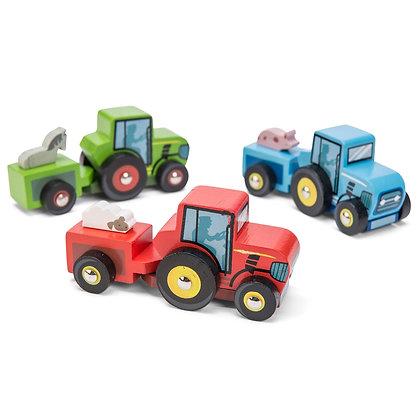 Le Toy Van - Tractor Trails (Various Colours)