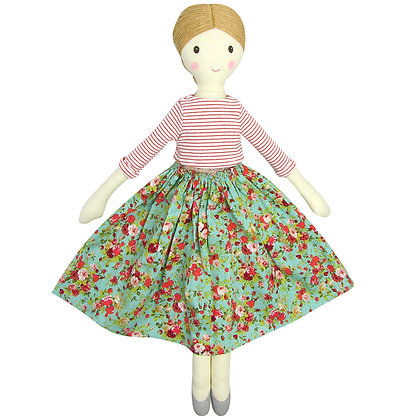 Albetta Gisele Floral Doll